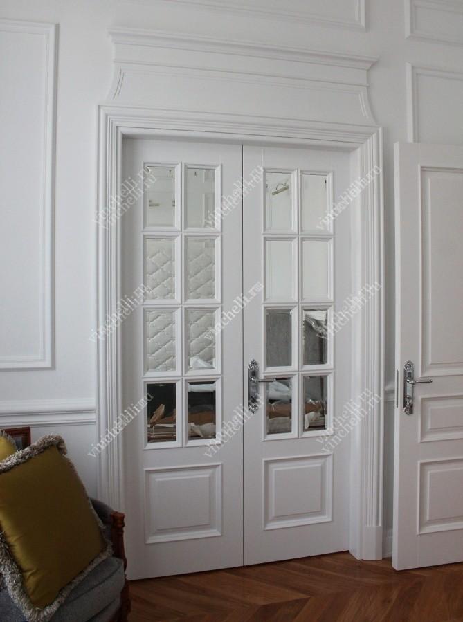 двухстворчатые двери на заказ купить в москве компания