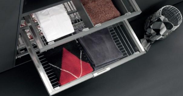 Новая коллекция наполнения для гардеробных от итальянского бренда